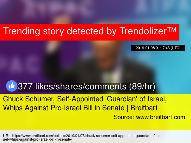Chuck Schumer, Self-Appointed '
