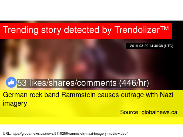 German rock band Rammstein causes outrage with Nazi imagery